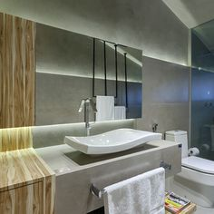 Ofício Habitat, Banheiros Maiores - Decoração,