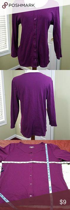 Victoria's Secret purple sleep shirt Victoria's Secret purple sleep shirt. In good condition.  Approximate measurement shown in pictures.  Materials shown in pictures. Victoria's Secret Intimates & Sleepwear Pajamas