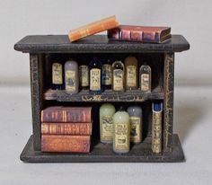 Dolls House Miniature Witch / Wizard Small by uniqueminiatures, £16.50