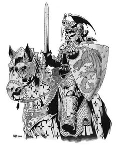 3e Prestige Class - Sword and Fist - Art by Wayne Reynolds