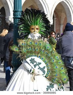Venetian Carnival Costumes | Venice Carnival Costume Stock Photo & Stock Images | Bigstock