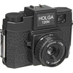 Holga 144-120 120N Medium Format Camera (Black)