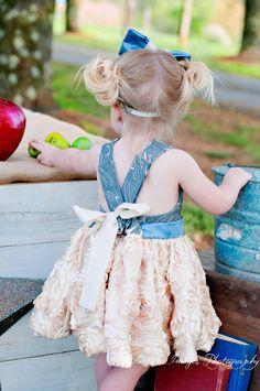 ABC Vintage Birthday Dress, First birthday,