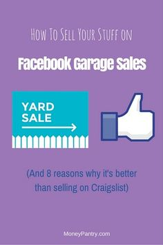 How to Sell Your Stuff on Facebook Garage Sales