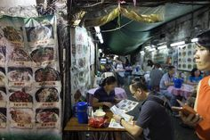 Satiate your hunger at a Dai Pai Dong (food stall). HK