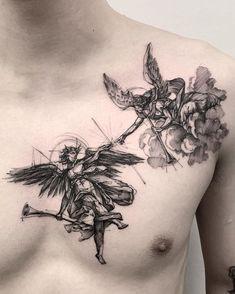 👉🏼✨👈🏻 👿😇 Done at B K.inkstudio sponsored by Killer Silver In… – Zakwan Shariff 👉🏼✨👈🏻 👿😇 Done at B K.inkstudio sponsored by Killer Silver In… 👉🏼✨👈🏻 👿😇 Done at B K.inkstudio sponsored by Killer Silver Ink Forearm Tattoos, Body Art Tattoos, Sleeve Tattoos, Tatoos, Unique Tattoos, Beautiful Tattoos, Small Tattoos, Piercing Tattoo, Piercings