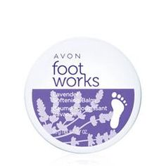 avon-foot-works-lavender-softening-balm : All foot works products on sale now!