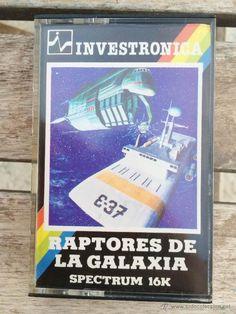 Investronica - Raptores de la Galaxia - Juego para Spectrum Sinclair