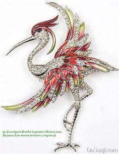 Птицы в ювелирных изделиях...