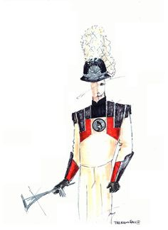 Roman Red-black-cream band uniform by The Band Hall Black Cream, Red Black, Band Uniforms, Samurai, Roman, Samurai Warrior