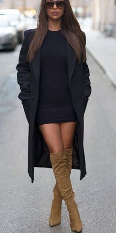 Over the knee Suede | from Angel Style