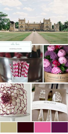 Pink and Berry Color Palette