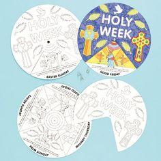 Holy Week Story Wheels