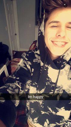 """I'm happy"""