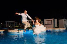 trash the dress - destination wedding - Riu Palace Bavaro Punta Cana Wedding Photos |