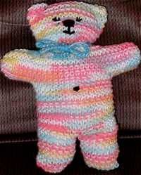 Quick and easy Teddy Bears for ER rooms or first responders to have on hand for children in crisis situations