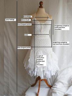Fairy Wedding Dress Upcycled Clothing