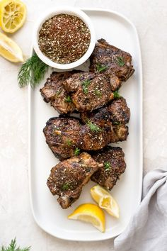 Lamb Chop Recipes, Pulled Pork Recipes, Barbecue Recipes, Lamb Loin Chops, Grilled Lamb Chops, Fun Easy Recipes, Veg Recipes, Whole30 Recipes, Air Fryer Recipes Low Carb