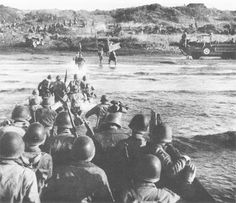 22 Jan 44: Day 1 of 136 of the Battle of Anzio. In an effort to end the costly stalemate at Monte Cassino, Italy, the US 5th Army lands two divisions against German forces at Anzio, 30 miles south of Rome. What might have been a quick, decisive victory turned into months of heavy fighting. #WWII #History