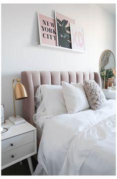 Small Master Bedroom, Master Bedroom Makeover, Bedroom Makeovers, Modern Bedroom, Eclectic Bedrooms, Room Ideas Bedroom, Home Decor Bedroom, Design Bedroom, Bed Rooms