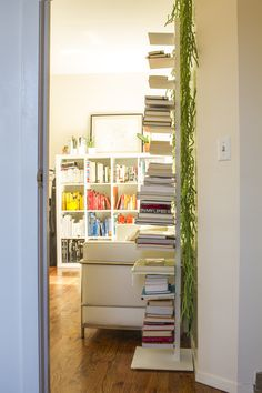 beautiful house! http://www.designsponge.com/2013/08/a-williamsburg-apartment-for-work-and-play.html#more-180690