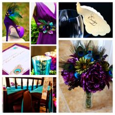 Peacock Wedding ideas, shoe clips from Sofisticata http://sofisticata.etsy.com