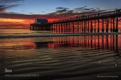 Sunset at Newport Pier by mickboy64s #photo