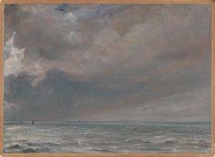 John Constable, 'The Sea near Brighton' 1826