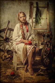 Russian-Style Photograph -- this is a photograph? o_o I thought it was a painting...