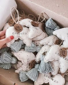 Felt Christmas, Christmas Crafts, Felt Crafts, Diy And Crafts, Hand Embroidery Videos, Fairy Gifts, Baby Keepsake, Easy Sewing Projects, Diy Stuffed Animals
