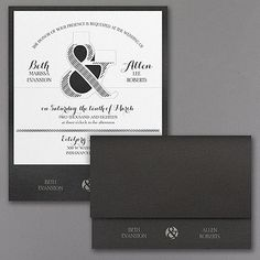 And it Black And White Wedding Invitations, Traditional Wedding Invitations, Laser Cut Wedding Invitations, Unique Wedding Invitations, Rustic Invitations, Invites, Gala Invitation, Invitation Cards, Wedding Invitation Inspiration