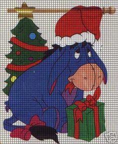 Santa Eeyore Crochet Pattern