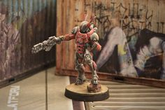 Infinity - Nomad Mobile Brigada Infinity The Game, Warhammer 40k, Gundam, Tabletop, Scenery, Miniatures, Ideas, Table, Landscape
