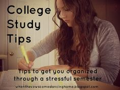 When the Cows Come Dancing Home: Study Tips