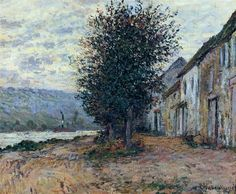 The Banks of the Seine (1878) Claude Monet                                                                                                                                                                                 More