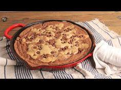 **Note use gluten free flour  (62) Skillet Brookie (Brownie Cookie) Recipe Episode 1233 - YouTube
