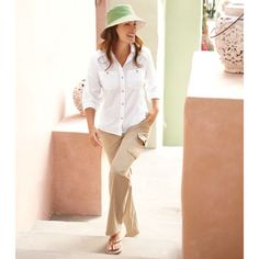 Women's Cargo Pants - Solumbra: All Day 100+ SPF Sun Protective Clothing - Style# 22900