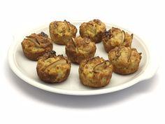 Antipasto sfizioso...senza glutine:  http://stellasenzaglutine.com/2015/03/22/tortini-salati-senza-glutine-con-pere-noci-e-tofu-da-una-idea-di-cristina-lunardini/