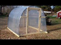 A portable and inexpensive greenhouse can be built in a matter of hours with the right tools and a little elbow grease.
