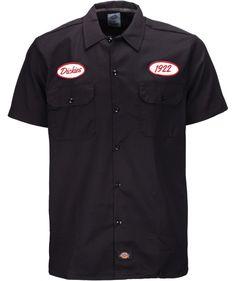 Dickies Rotonda South Shirt (Dark Navy) - Front
