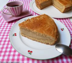 Gâteau basque vegan