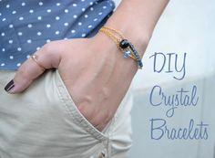 DIY – crystal bracelets