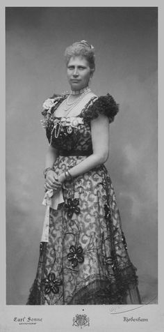 Queen Louise of Denmark, née Sweden by Carl Sonne Princess Louise, Princess Alexandra, Princess Diana, Christian Ix, Maria Feodorovna, Queen Margrethe Ii, Old King, Danish Royalty, Royal Blood