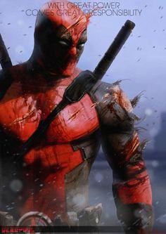 WEST COAST AVENGERS • astonishingx:   Deadpool by Adnan Ali