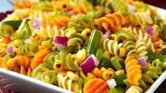 Easy Tri-Color Pasta Salad