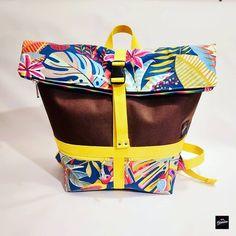 Kréaméline sur Instagram: 🤗 HelllloO! 👋 Envie de fun et de couleurs? Vous êtes au bon endroit! 🎨☀️ ➡️ Ce matin je vous présente un sac Troïka 🎒 parti rejoindre sa…