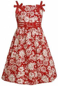 Bonnie Jean Girls Plus 12.5-20.5 Red White Bow Shoulder Floral Print Dress, http://www.amazon.com/dp/B00DE5WGBE/ref=cm_sw_r_pi_awdm_urljtb1263GX1