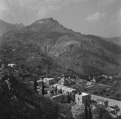 Antica veduta di Taormina, vista da monte Ziretto