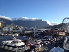 Waterfront in Cape Town, South Africa. Cape Town, San Francisco Skyline, South Africa, Westerns, African, Live, World, Places, Travel