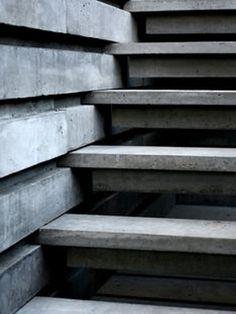 Stair-concrete tread